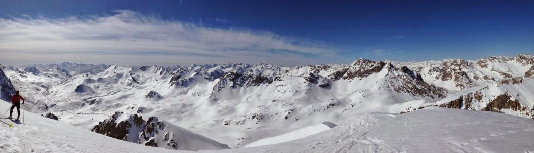 ski de randonnée dans le Queyras - ski de rando en Queyras