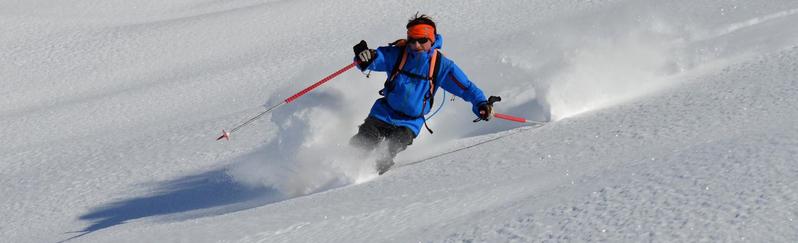 ski, hors, pistes, soleil, poudreuse, remontées mécanique, queyras, neige, ski, neige, vierge