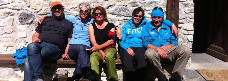 randos, randonnées, ski, val maira, italie, bureau des guides, soleil et bonne neige