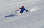 Skier à Saint-Veran avec un guide